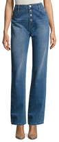 Maje Cotton Straight Leg Jean