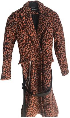Misbhv Orange Wool Coats