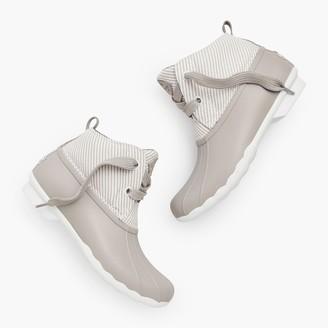 Talbots Sperry Seersucker Saltwater Duck Boots