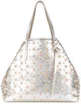 Jimmy Choo Sasha star studded tote
