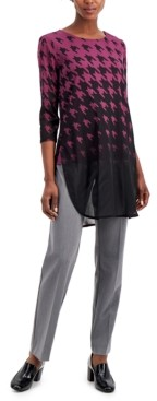 Alfani Printed Gradient Tunic, Created for Macy's