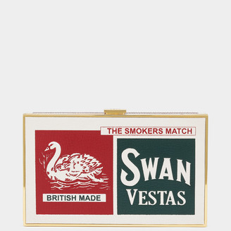 Anya Hindmarch Swan Matches Imperial Clutch