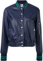Twin-Set bomber jacket - women - Cotton/Polyester/Viscose/Polyurethane Resin - XS
