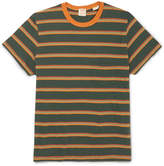 Levi's 1960s Striped Cotton-jersey T-shirt - Green