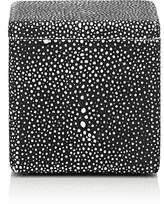 SV CASA Shagreen-Effect Resin Lidded Box