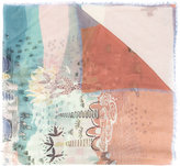 Valentino Garavani Garden Of Earthly Delights scarf - women - Cashmere/Modal - One Size