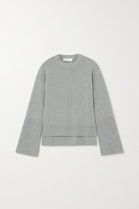 Frame Cashmere And Wool-blend Sweater - Gray
