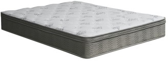 Furniture of America Maze Contemporary White Queen Euro Top Mattress