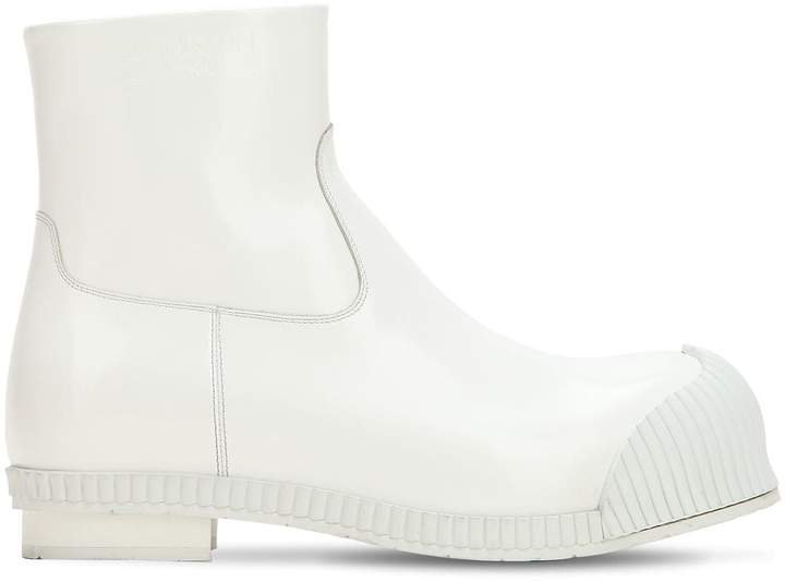 Calvin Klein Dense 50 Calf Leather Fireman Boot