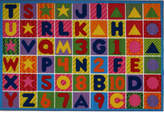 Fun Rugs Fun Time Numbers and Letters Kids Area Rug Rug