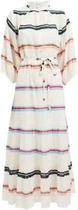 Apiece Apart Granada Striped Cotton Maxi Dress