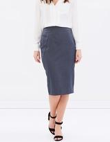 Dorothy Perkins Panelled Pencil Skirt