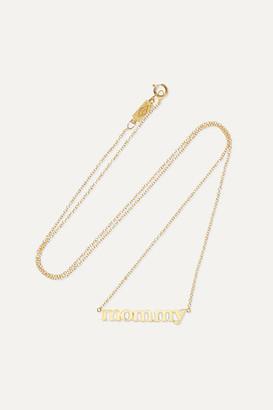 Jennifer Meyer Mommy 18-karat Gold Necklace