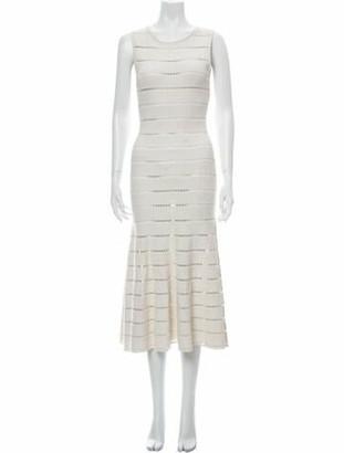 Oscar de la Renta 2019 Midi Length Dress