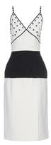 Balenciaga Bi-colour rivet-detail dress
