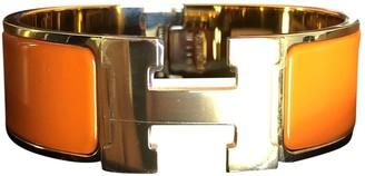Hermã ̈S HermAs Clic H Gold Gold plated Bracelets