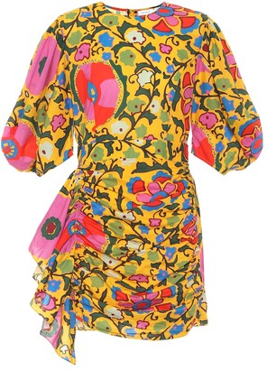 Rhode Resort Exclusive to Mytheresa Pia floral cotton minidress