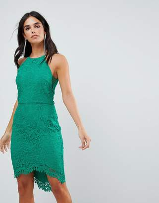 Adelyn Rae Louise Fishtail Sheath Lace Dress