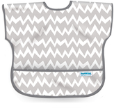 Bumkins Gray Chevron Junior Bib