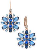 Kate Spade Crystal Snowflake Drop Earrings