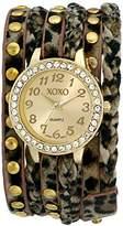 XOXO Women's XO5670 Analog Display Quartz Beige Watch