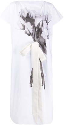 MM6 MAISON MARGIELA Bouquet Print Dress