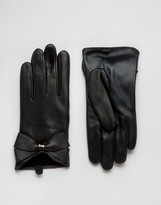 Ted Baker Large Leather Gloves