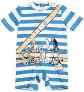 Stella McCartney Explorer Lycra Short Sleeve Swimsuit