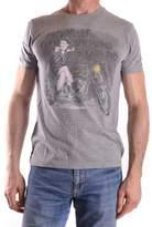 Fred Mello Men's Grey Cotton T-shirt.