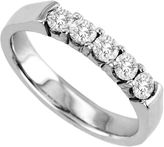 JCPenney FINE JEWELRY 1/2 CT. T.W. Diamond Band 14K White Gold
