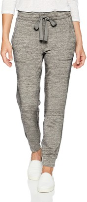 Daily Ritual Amazon Brand Women's Terry Cotton and Modal Patch-Pocket Jogger Pant
