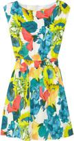 Alice + Olivia Alissa floral-print stretch silk-georgette dress