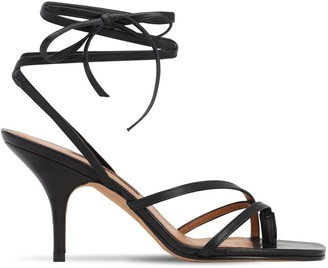 Emme Parsons 75mm Jamie Leather Thong Sandals