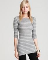 BCBGMAXAZRIA Yvette Three-Quarter Length Sleeve Tunic