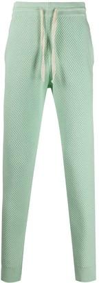 Casablanca Drawstring Waffle-Knit Track Pants