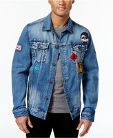 American Rag Men's Denim Patch Jacket, Created for Macy's