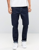 Asos Tapered Jeans in Raw Blue