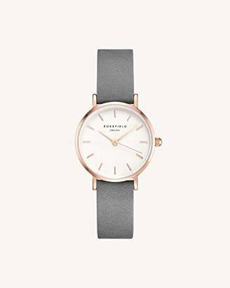 Rosefield Women's Watch The Small Edit White Grey Rose Gold 26WGR-264