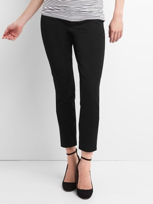Gap Maternity Inset Panel Skinny Ankle Pants in Bi-Stretch