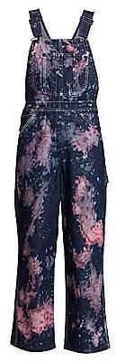 Riley Women's Tie-Dye Overalls