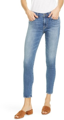 Frame Le Skinny de Jeanne Colorblock Ankle Skinny Jeans