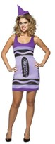 Crayo Crayola Women's Dress Costume Purple OSFM