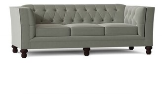"Darby Home Co Kirtin 89"" Tuxedo Arm Sofa Body Fabric: Antonio Fern"