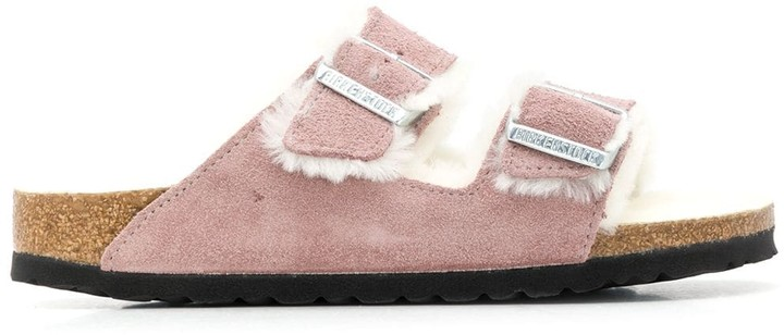 Birkenstock Shearling Lined Sandals