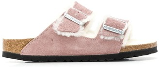 Birkenstock Shearling Lined Sandals