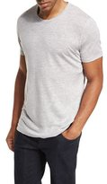 Majestic Linen-Silk Crewneck T-Shirt