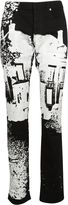 Christian Dior Printed Jeans