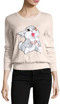 Markus Lupfer x Disney® Thumper Sequined Grace Jumper, Powder Pink