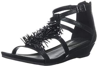 Kenneth Cole Reaction Women's Fringe T-Strap Wedge Sandal