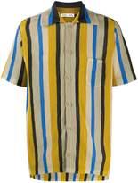 Cmmn Swdn striped short sleeved shirt